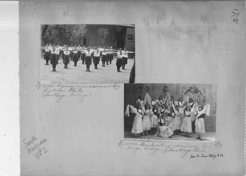 Mission Photograph Album - South America O.P. #2 page 0047