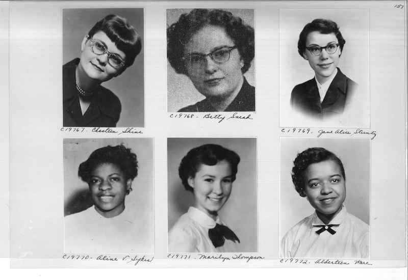 Mission Photograph Album - Portraits #08 Page 0157