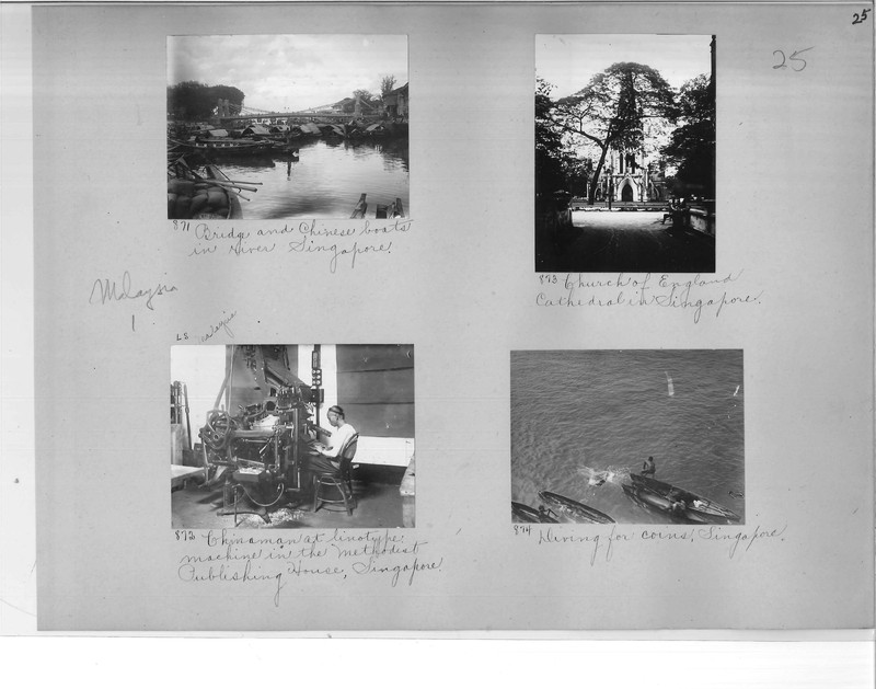 Mission Photograph Album - Malaysia #1 page 0025