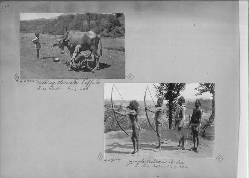 Mission Photograph Album - India - O.P. #02 Page 0210