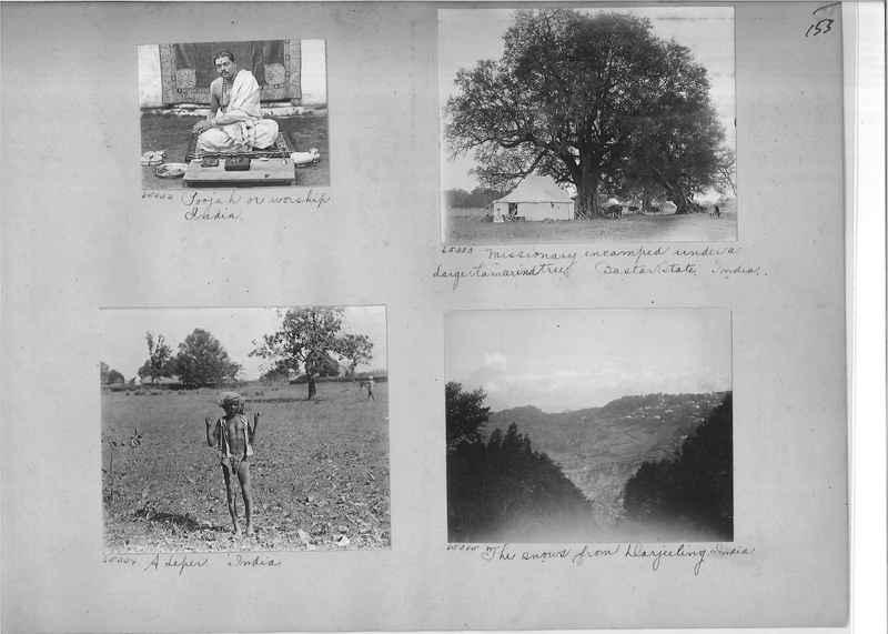 Mission Photograph Album - India #08 Page 0153