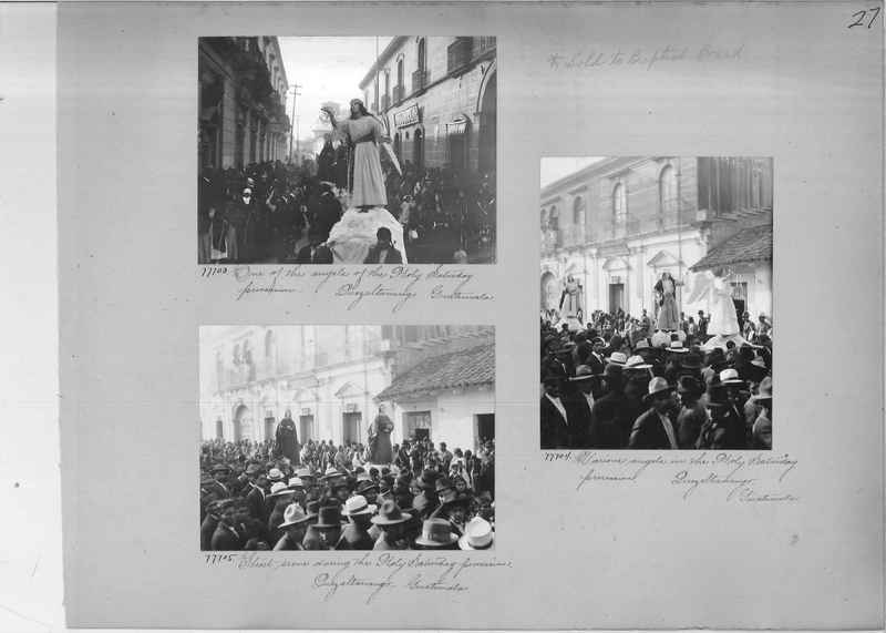 Mission Photograph Album - Panama #04 page 0027