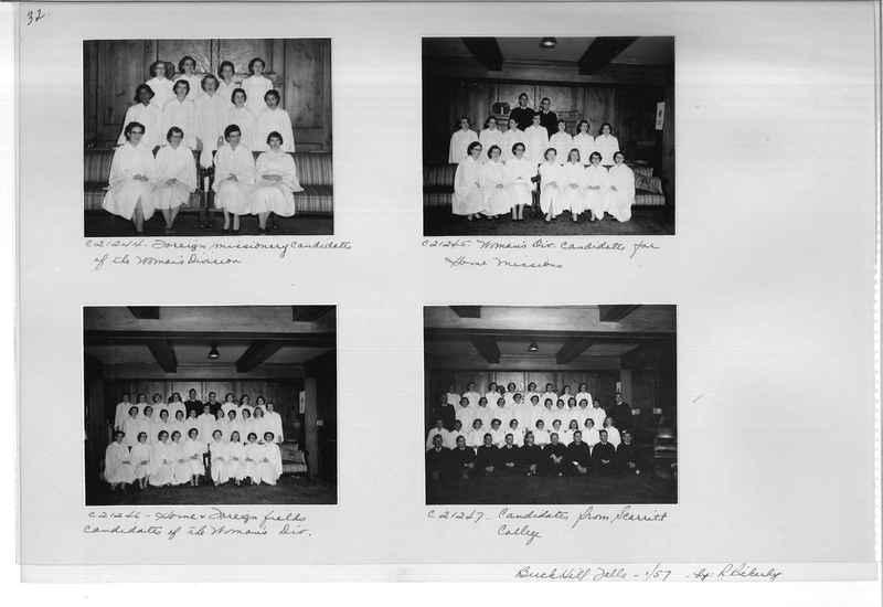Mission Photograph Album - Portraits #10 Page 0032