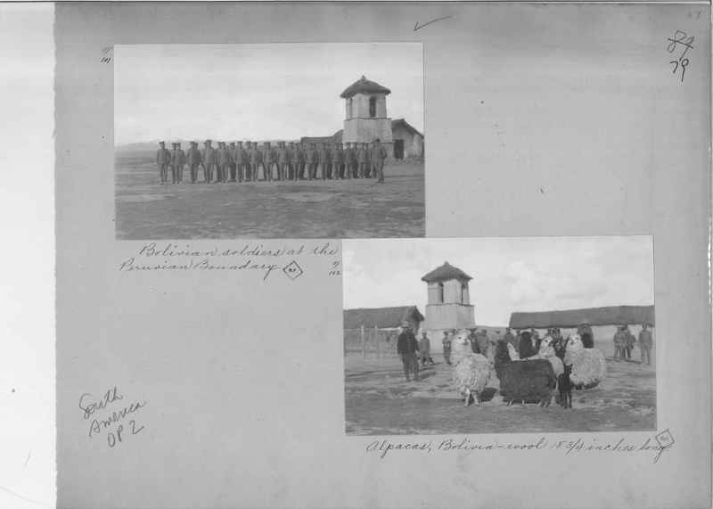 Mission Photograph Album - South America O.P. #2 page 0079