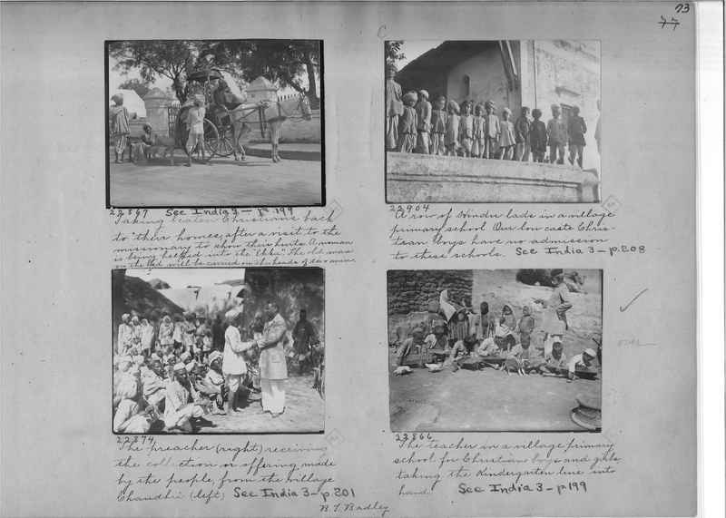 Mission Photograph Album - India - O.P. #01 Page 0073