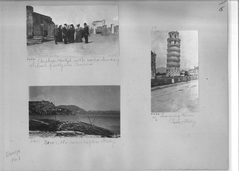 Mission Photograph Album - Europe #01 Page 0015
