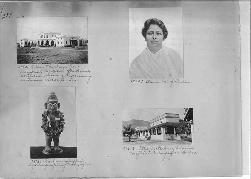 Mission Photograph Album - India #08 Page 0234