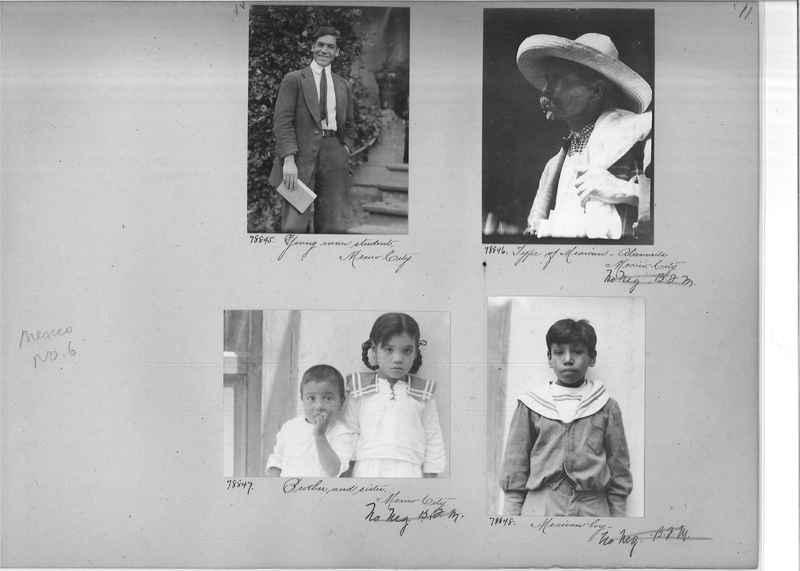Mission Photograph Album - Mexico #06 page 0011