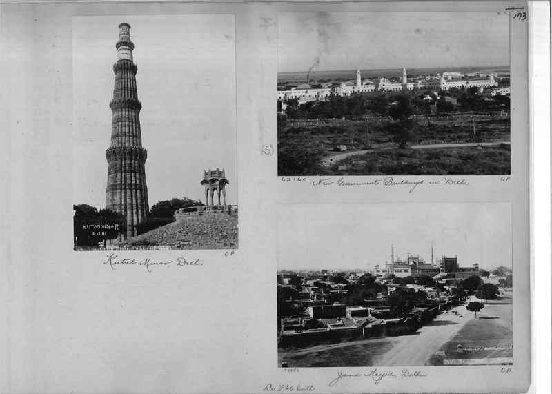 Mission Photograph Album - India - O.P. #01 Page 0173