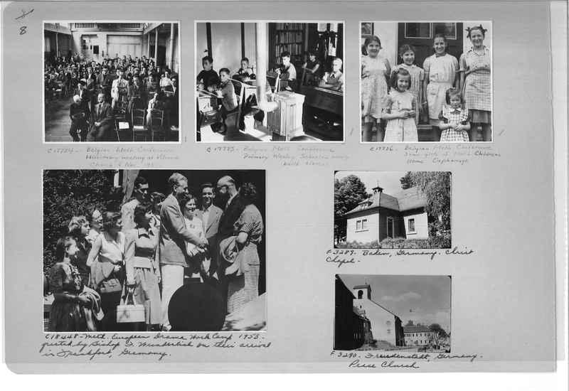 Mission Photograph Album - Europe #10 Page 0008
