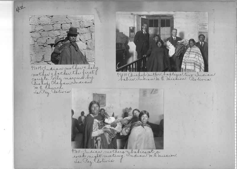 Misson Photograph Album - South America #8 page 0042