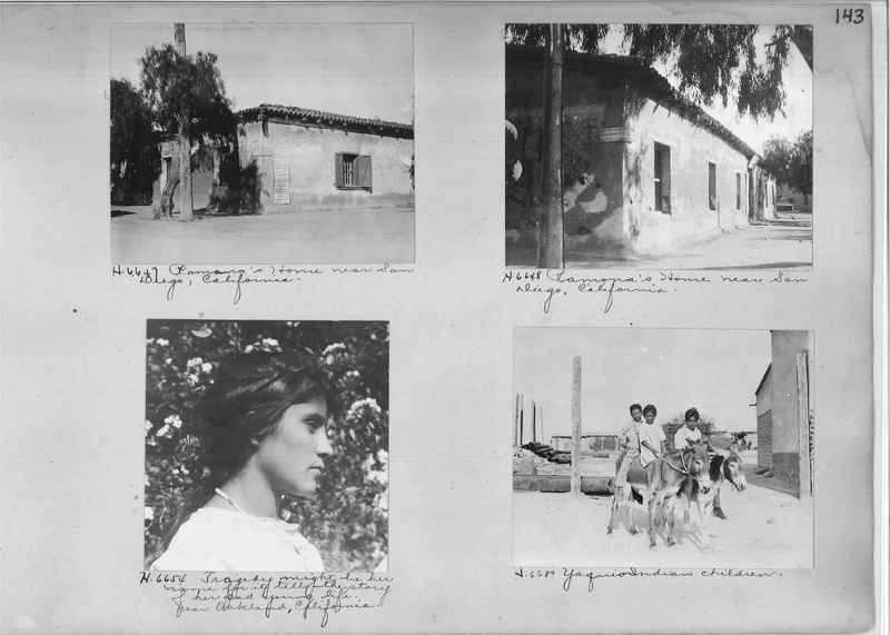 Mission Photograph Albums - Indians #1 page 0143