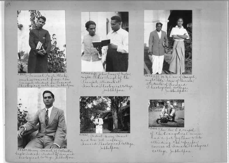 Mission Photograph Album - India #13 Page 0154