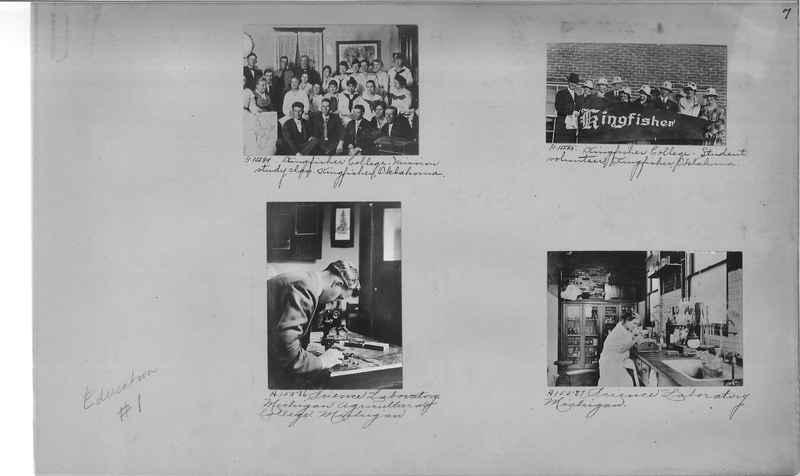 Mission Photograph Album - Education #1 page 0007