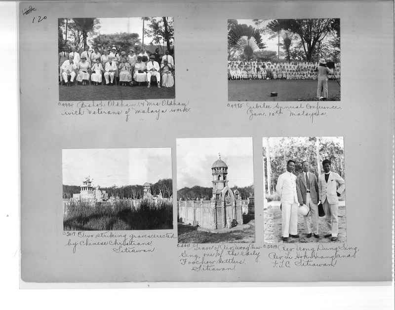 Mission Photograph Album - Malaysia #7 page 0120