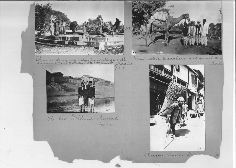 Mission Photograph Album - India - O.P. #02 Page 0027