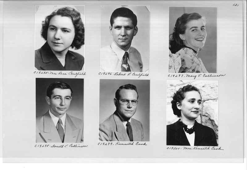 Mission Photograph Album - Portraits #08 Page 0131