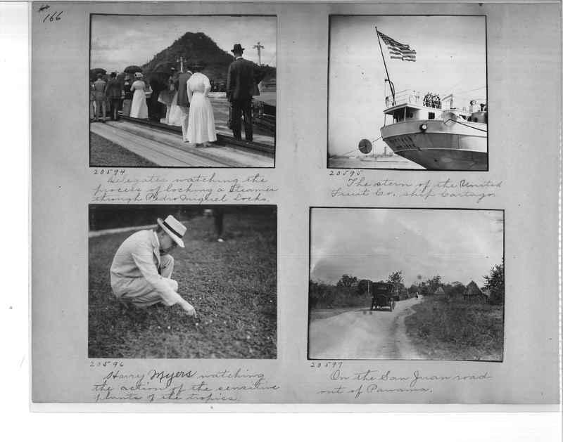 Mission Photograph Album - Panama #1 page  0166