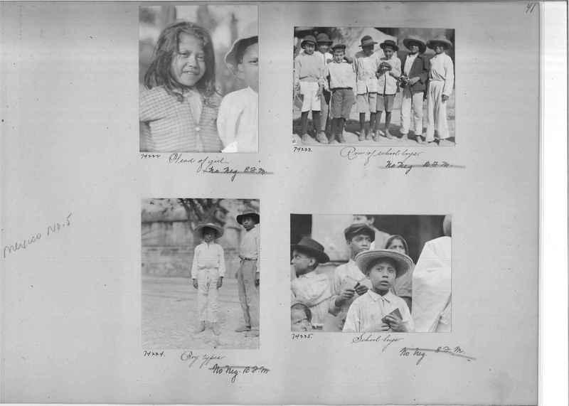 Mission Photograph Album - Mexico #05 page 0041