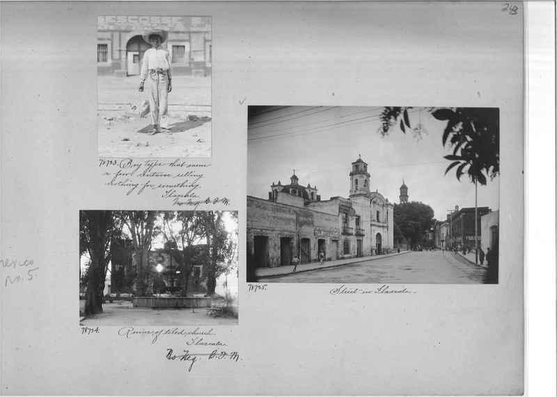 Mission Photograph Album - Mexico #05 page 0243