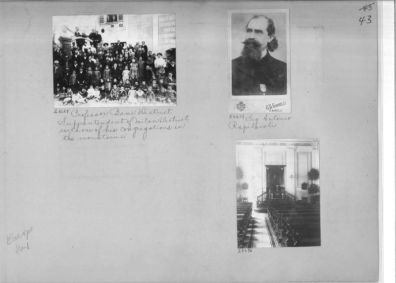 Mission Photograph Album - Europe #01 Page 0043