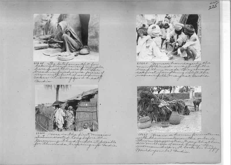 Mission Photograph Album - India #08 Page 0225