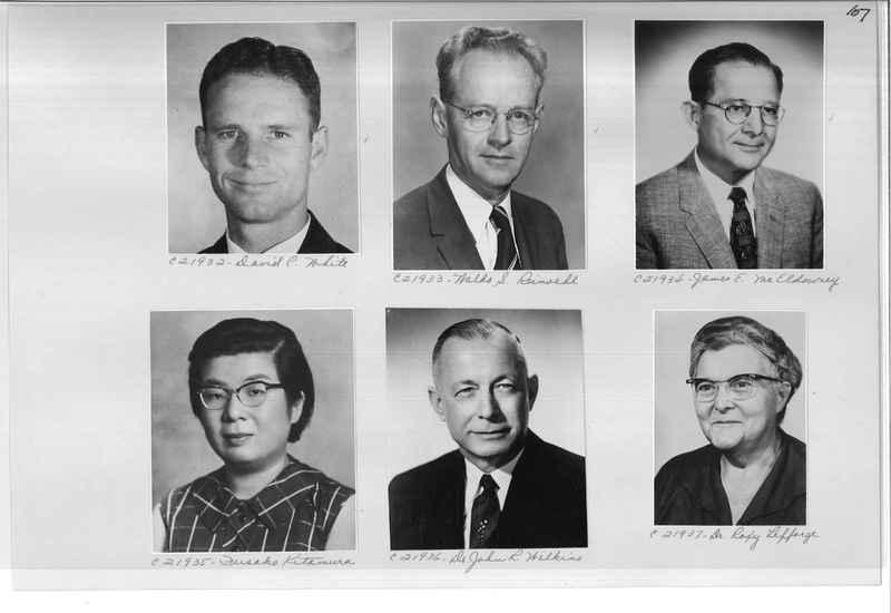 Mission Photograph Album - Portraits #10 Page 0107
