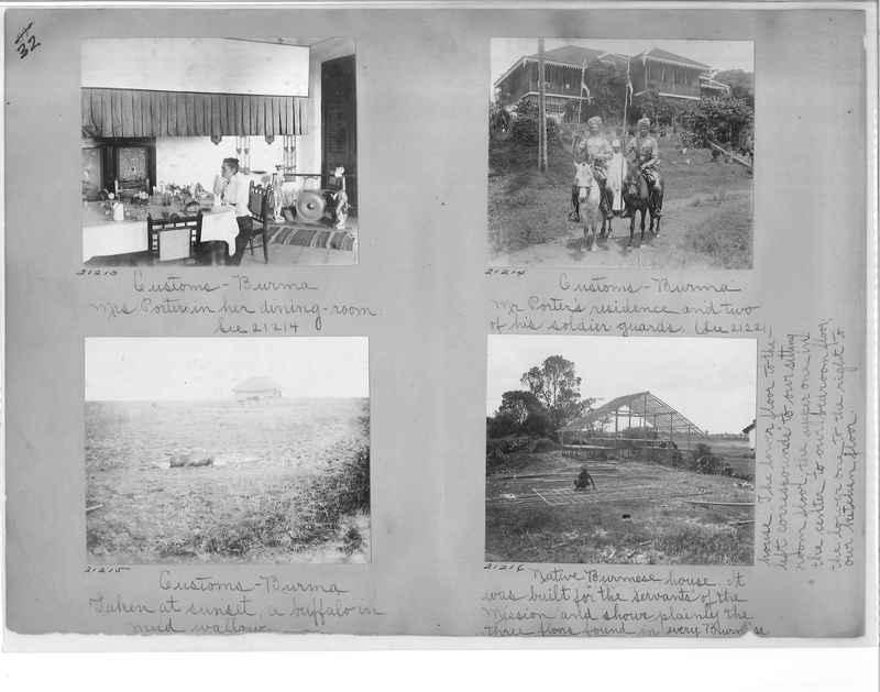 Mission Photograph Album - Burma #1 page 0032