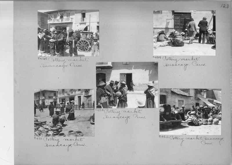 Misson Photograph Album - South America #8 page 0123