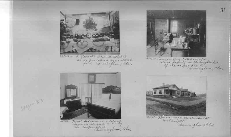 Mission Photograph Album - Negro #3 page 0031