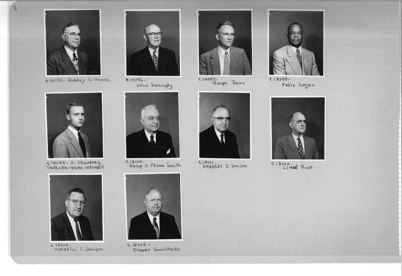 Mission Photograph Album - Portraits #08 Page 0008