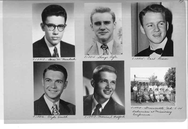 Mission Photograph Album - Portraits #08 Page 0097