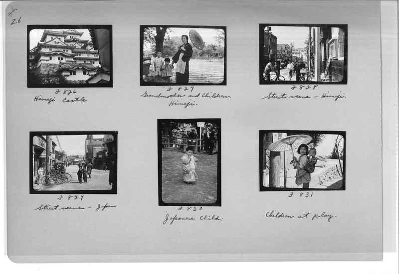 Mission Photograph Album - Japan #07 Page 0026