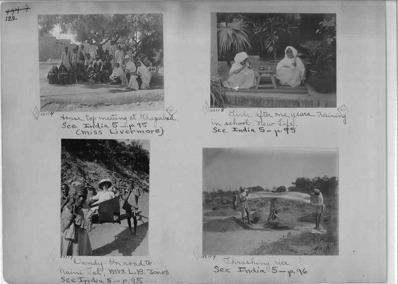 Mission Photograph Album - India - O.P. #01 Page 0122