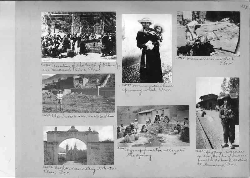 Misson Photograph Album - South America #8 page 0153