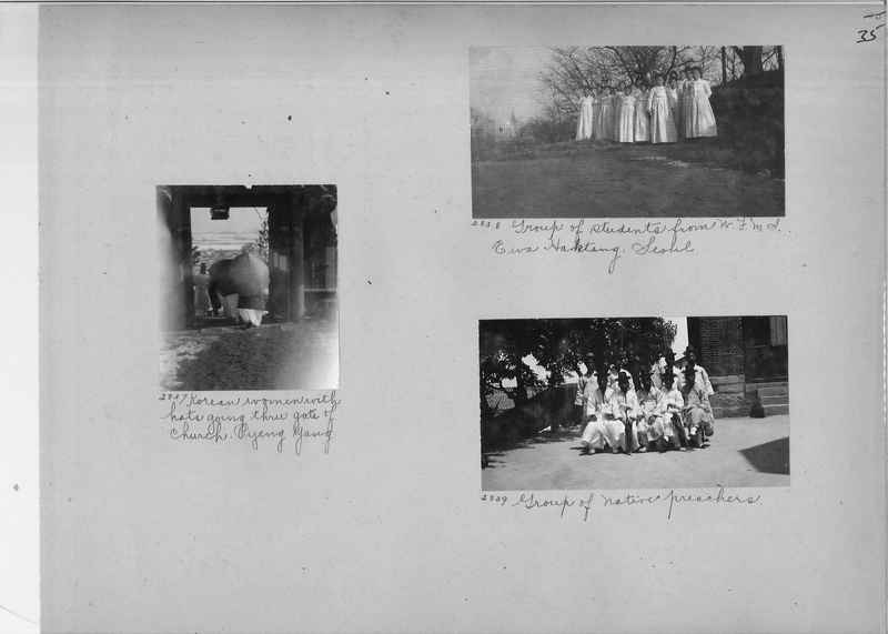 Mission Photograph Album - Korea #1 page 0035