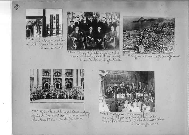 Misson Photograph Album - South America #8 page 0088