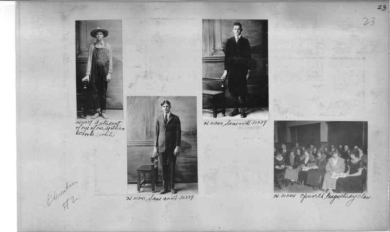 Mission Photograph Album - Education #2 page 0023