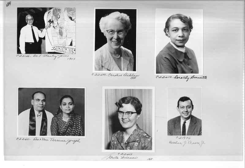 Mission Photograph Album - Portraits #10 Page 0134