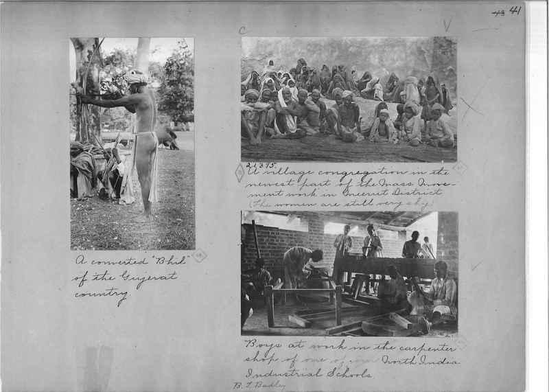 Mission Photograph Album - India - O.P. #01 Page 0041