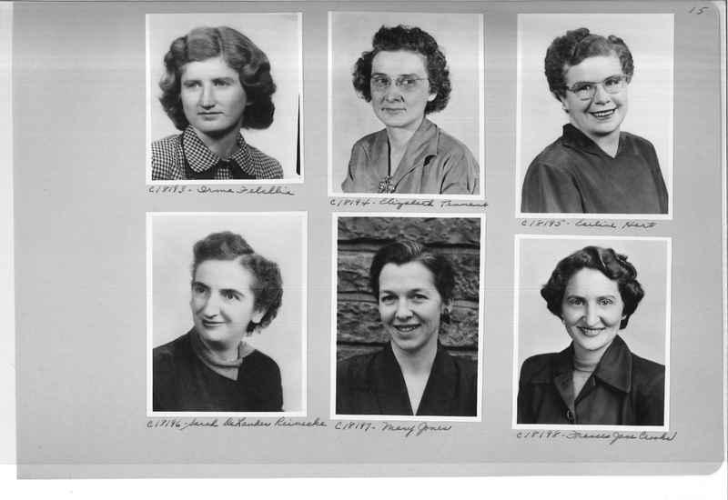 Mission Photograph Album - Portraits #08 Page 0015