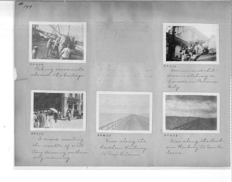 Mission Photograph Album - Panama #1 page  0144