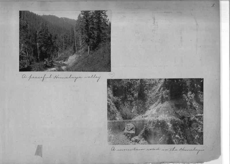 Mission Photograph Album - India - O.P. #01 Page 0005