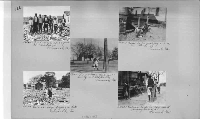 Mission Photograph Album - Negro #3 page 0122