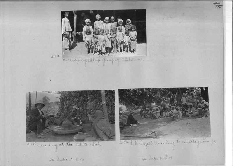 Mission Photograph Album - India - O.P. #01 Page 0195