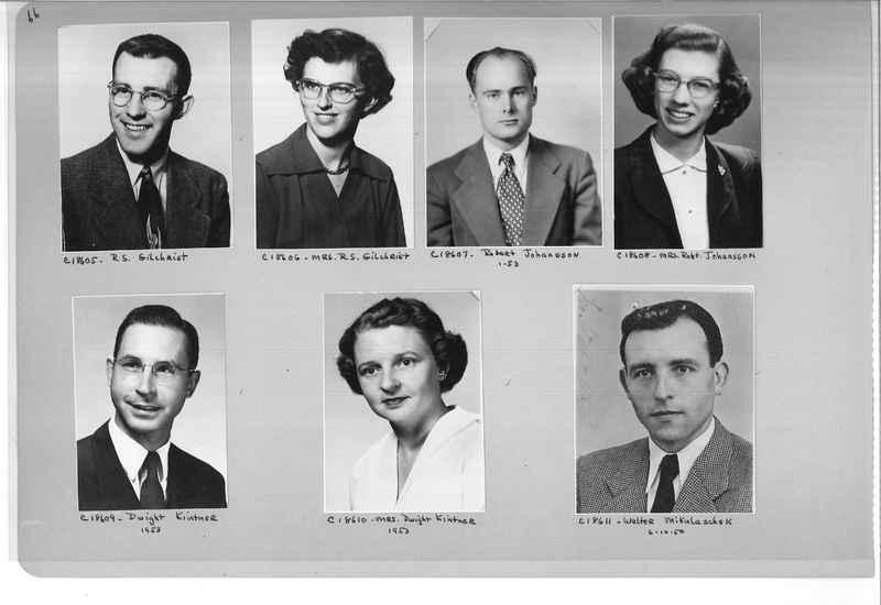 Mission Photograph Album - Portraits #08 Page 0066