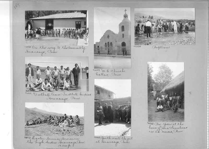 Misson Photograph Album - South America #8 page 0154