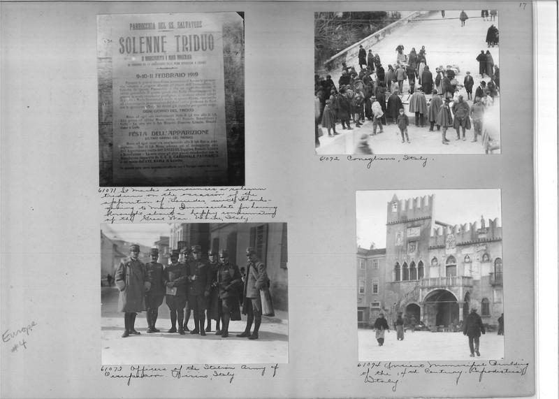 Mission Photograph Album - Europe #04 Page 0017
