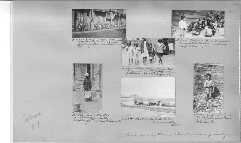 Mission Photograph Album - Negro #1 page 0107