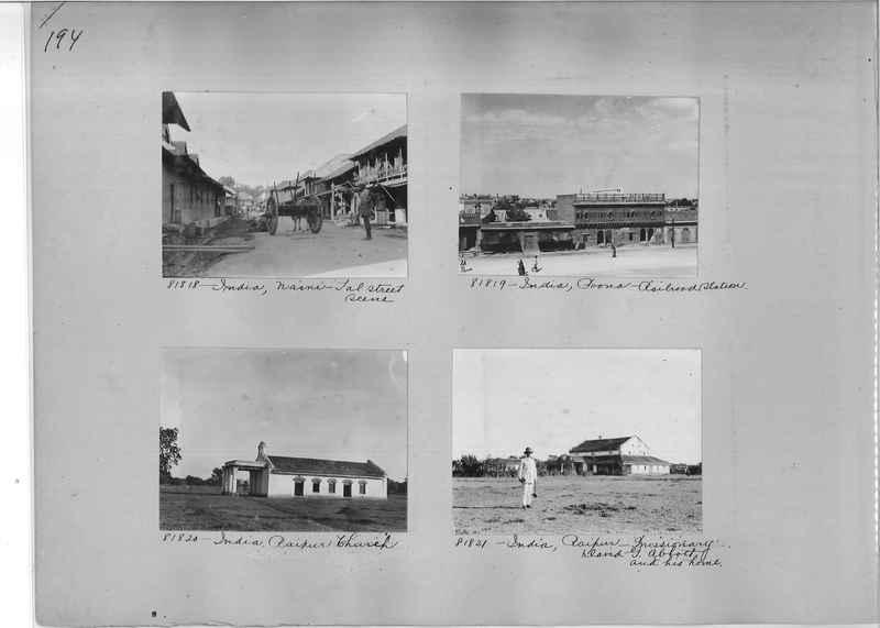 Mission Photograph Album - India #09 Page 0194
